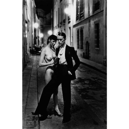 Helmut Newton-Rue Aubriot, Fashion Model and Nude-1975