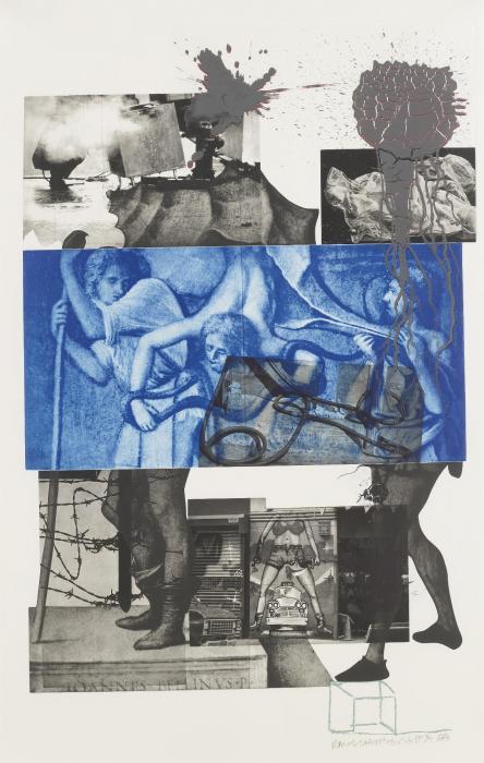 Robert Rauschenberg-Robert Rauschenberg - Bellini #3-1988