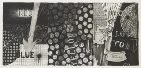 Jasper Johns-Untitled (Ulae 255)-1991