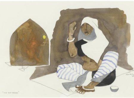Maqbool Fida Husain-The Day Break-1981