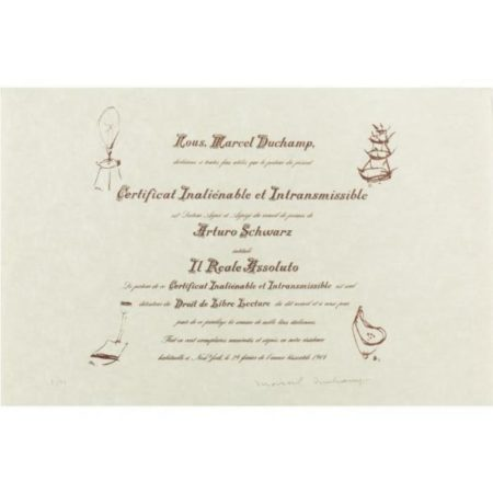 Certificat De Lecture: Three Impressions (s. 592)-1964