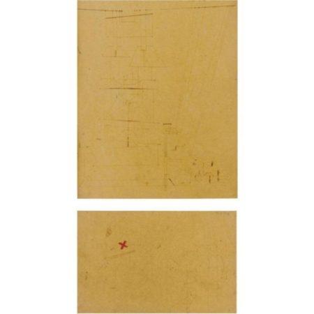 Paul Klee-Die Zeichnung Mit Dem X Fehler/Die Zeichnung Ohne Fehle (Drawing With Mistakes / Drawing Without Mistake)-1922