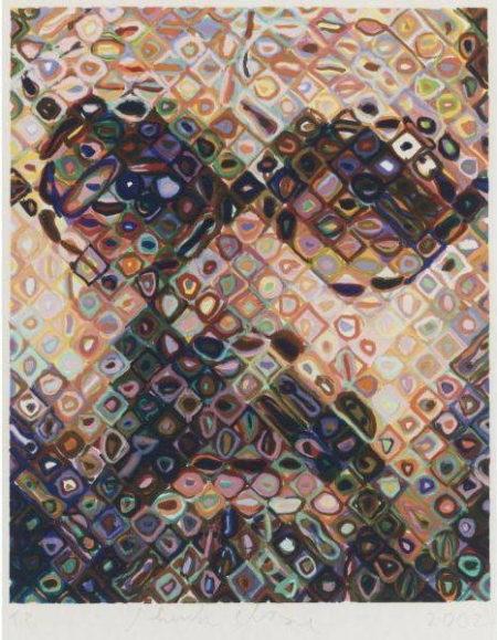 Chuck Close-Self-Portrait-2002