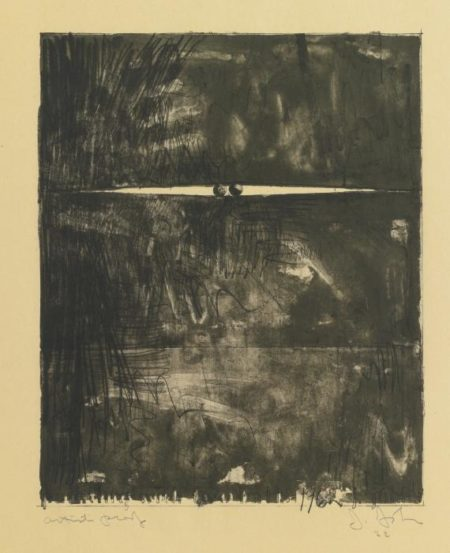 Jasper Johns-Painting With Two Balls II (Ulae 11)-1962