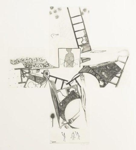 Jasper Johns-The Seasons (Ulae 249)-1990