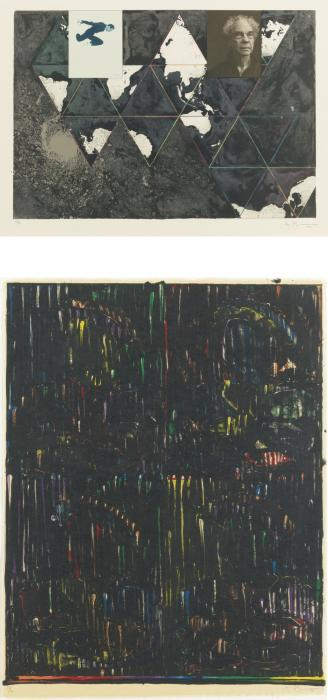 Jasper Johns-After Holbein-1994