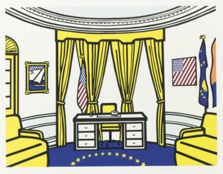 Roy Lichtenstein-The Oval Office-1992