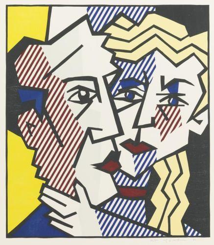 Roy Lichtenstein-The Couple-1980