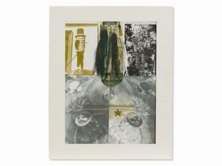 Robert Rauschenberg-Robert Rauschenberg - American Pewter with Burroughs I-1981