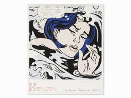 Roy Lichtenstein-After Roy Lichtenstein - Drowning Girl-1989