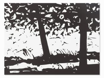 Alex Katz-Maine Woods-2013