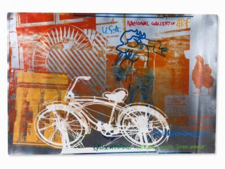 Robert Rauschenberg-Robert Rauschenberg - Bicycle-1991