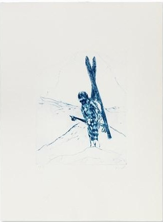 Drypoint for Ex Libris Edition # 11-2007