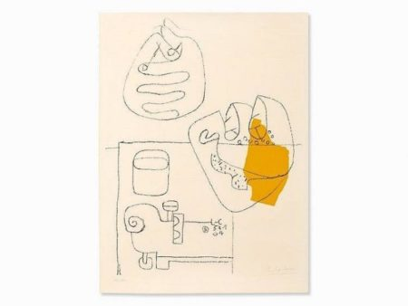 Le Corbusier-Mains Croisees-1964