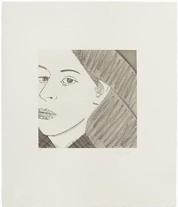 Alex Katz-Untitled from Light as Air-1987