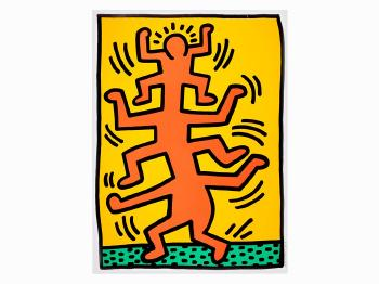 Keith Haring-Keith Haring - Growing I, From Growing-1988