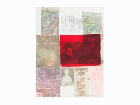 Robert Rauschenberg - From the Seat of Authority (From: The Suite of Nine Prints)-1979
