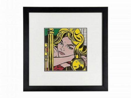 Roy Lichtenstein-Blonde Waiting-1964