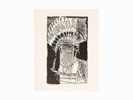 Roy Lichtenstein-The Chief-1956