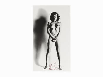 Helmut Newton-Big Nude III: Henrietta, Paris-1999