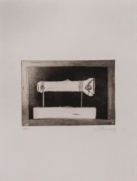 Jasper Johns-Large Flashlight (ULAE.58)-1969