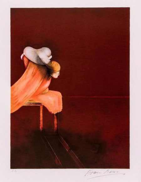 Francis Bacon-Left Panel from, Second Version of the Triptych-1944
