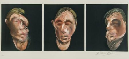 Francis Bacon-After Three Studies for a Self-Portrait-1983