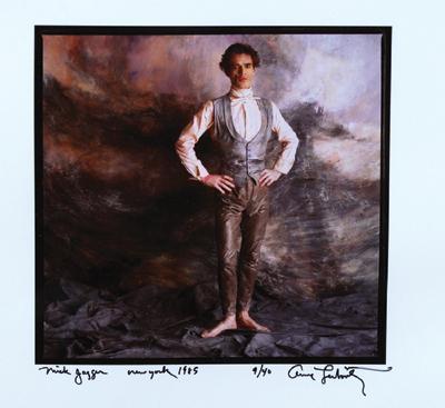 Annie Leibovitz-Mick Jagger-1985