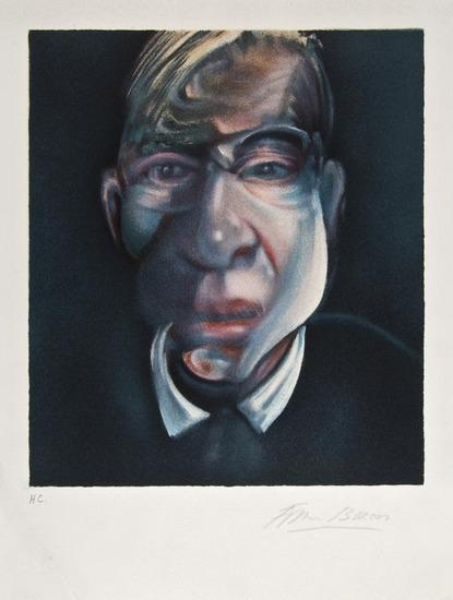 Francis Bacon-Self Portrait-1990