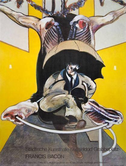 Francis Bacon-Stadtische Kunsthalle Dusseldorf-1971