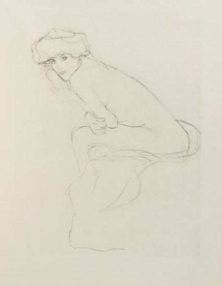 Gustav Klimt-Die Hetaerengespraeche Des Lukian-1907