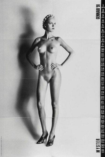 Helmut Newton-Myster (Big Nude Calendar)-1991