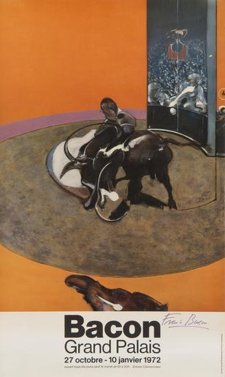 Francis Bacon-Poster for the Grand Palais-1972