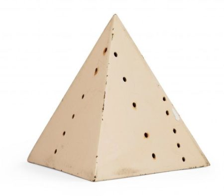Lucio Fontana-Pyramid-