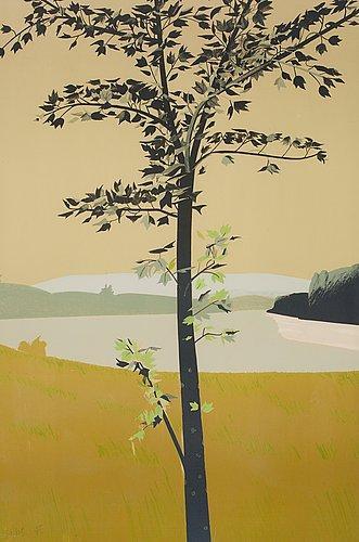 Alex Katz-Swamp maple I-1970