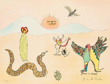 Niki de Saint Phalle-Arizona Sunset-1975