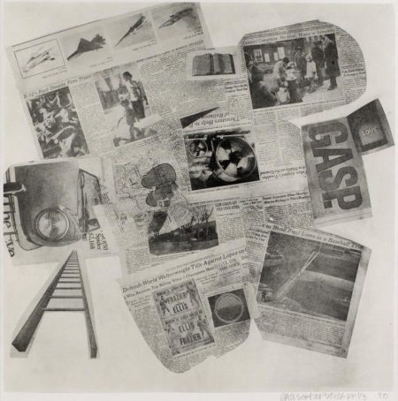 Robert Rauschenberg-Robert Rauschenberg - Features (From Currents)-1970