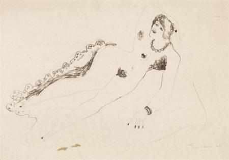 Lucio Fontana-Nudo femminile-1932