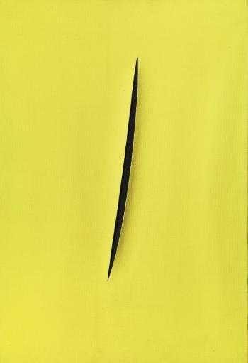 Lucio Fontana-Concetto spaziale. Attesa-1960