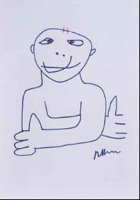 Richard Prince-Hippy Drawings-