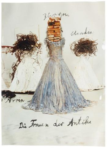 Anselm Kiefer-Die Frauen der Antike (Women of Antiquity)-1999