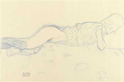 Gustav Klimt-Ohne Titel (Sheets From A Private Collection)-
