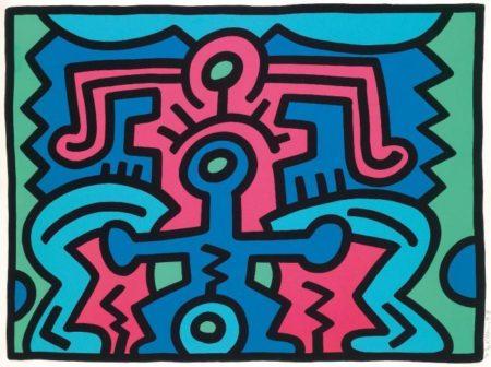 Keith Haring-Keith Haring - Growing No 5-1988