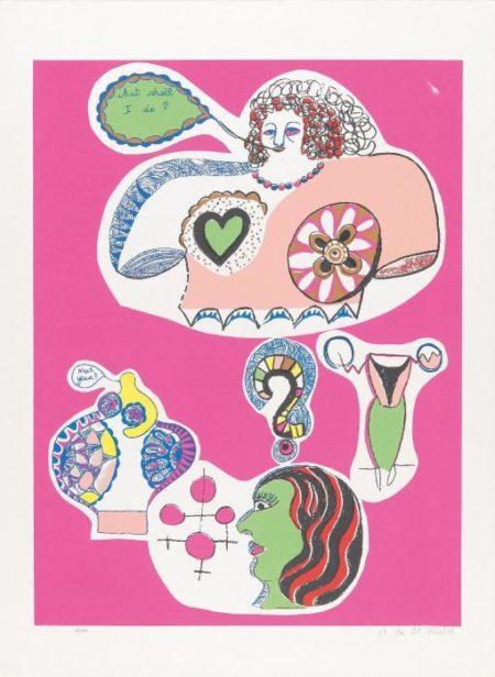 Niki de Saint Phalle-Ohne Titel-1970