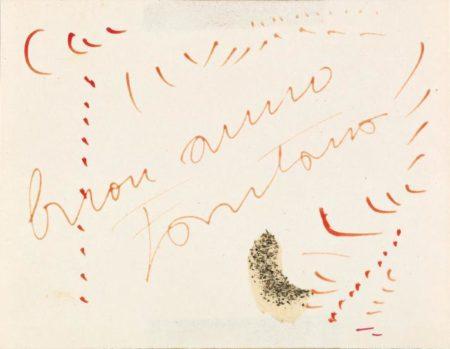 Lucio Fontana-Ohne Titel-