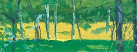 Alex Katz-Green Forest-2006