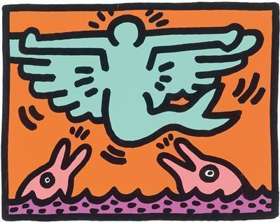 Keith Haring-Keith Haring - Ohne Titel-1989