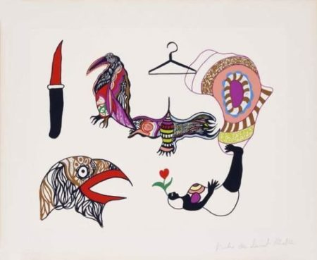 Niki de Saint Phalle-Africa-1974