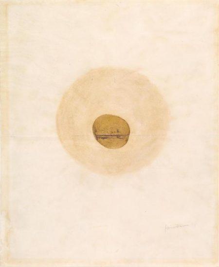 Lucio Fontana-Studio per ambiente spaziale-1949