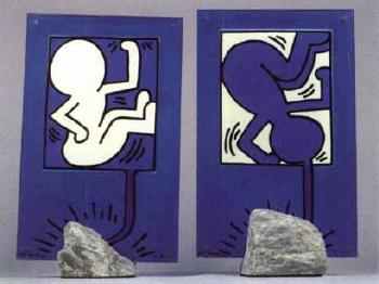 Keith Haring-Keith Haring - Chirro and Torro-1988